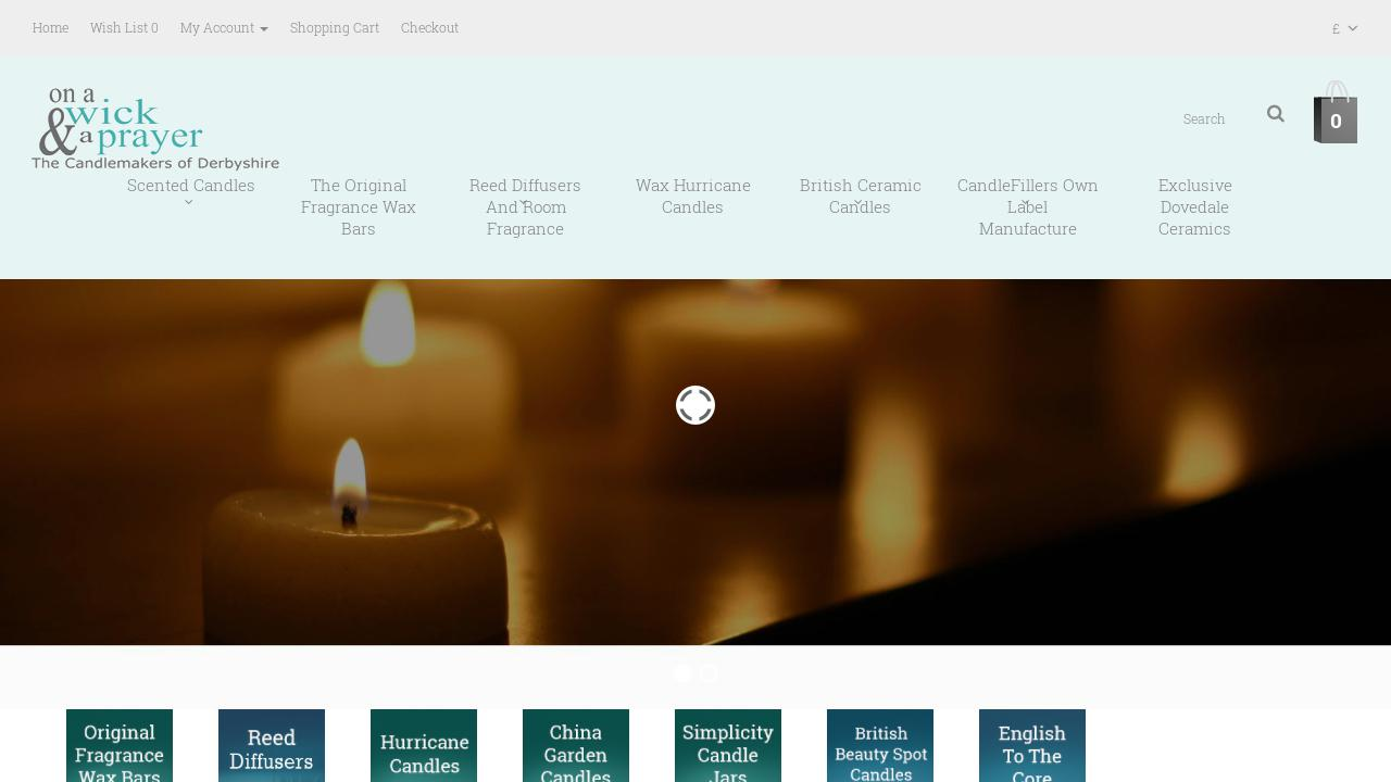 Live Sites in Gifts > Candles and Incense | osCommerce