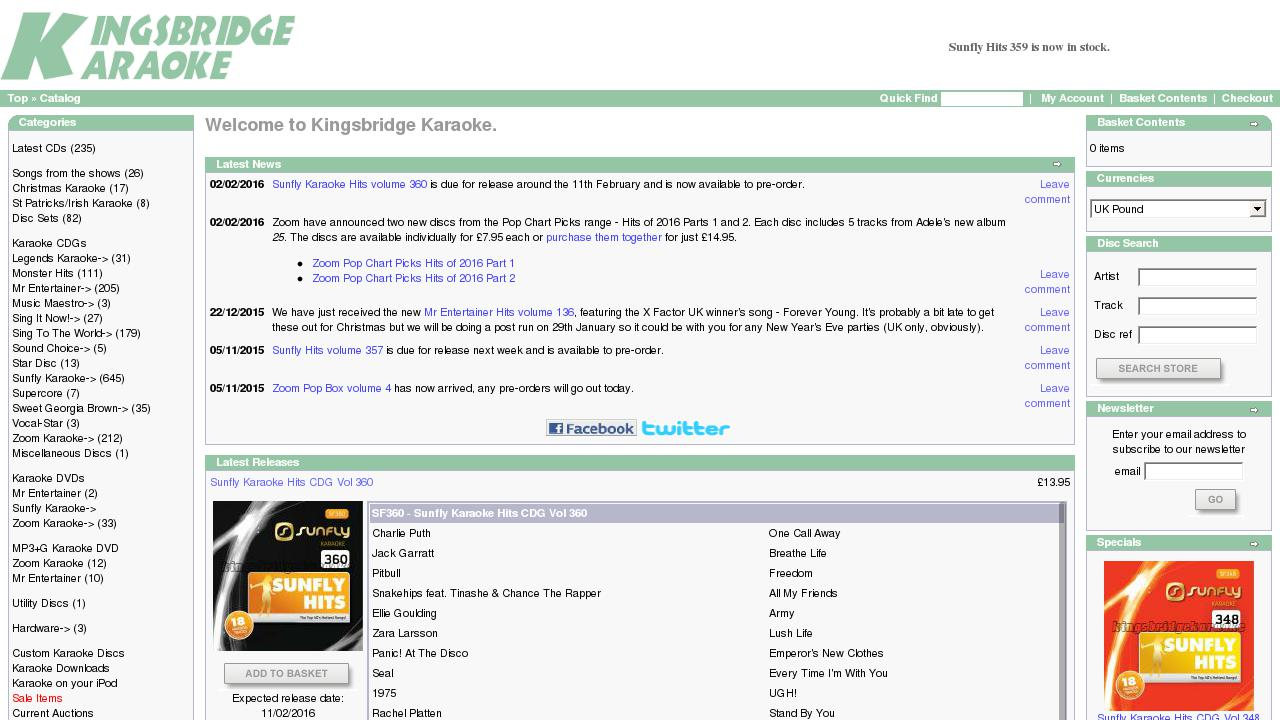 Live Sites in United Kingdom > Music and Entertainment
