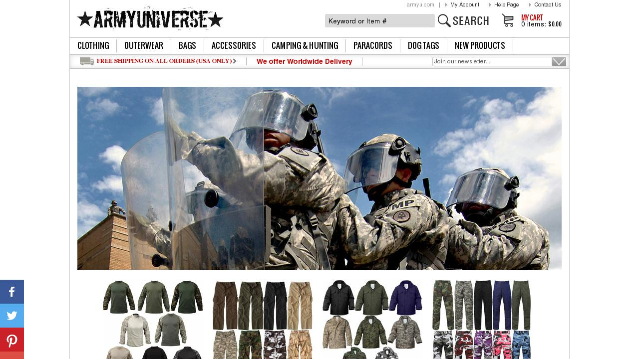 Live Sites in United States of America > Merchandise