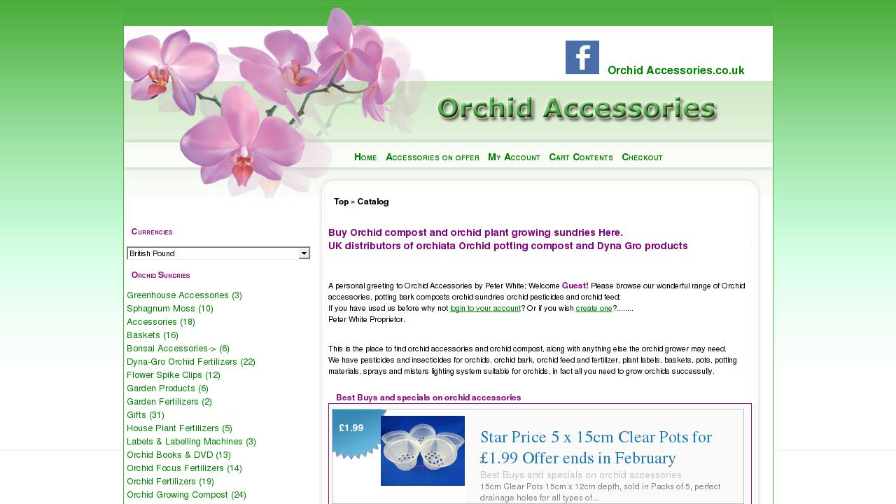 Live Sites In Home And Garden Horticulture Oscommerce