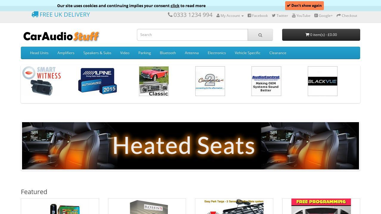 Live Sites In Automotive And Aerospace Car Audio Equipment